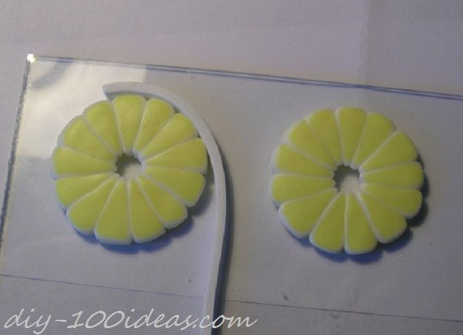 Polymer Clay Citrus Cane tutorial (13)