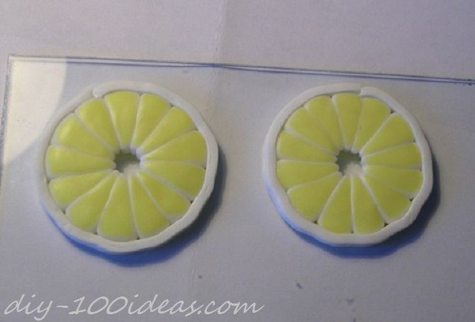 Polymer Clay Citrus Cane tutorial (14)