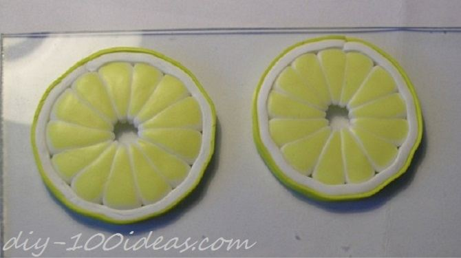 Polymer Clay Citrus Cane tutorial (17)
