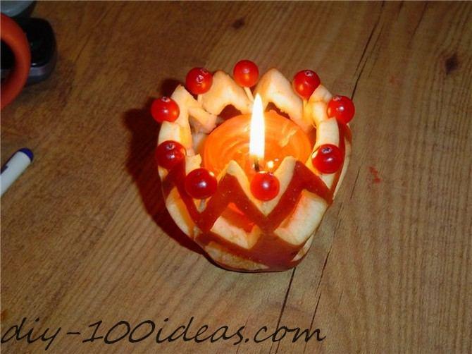 Apple Candle Tutorial (1)