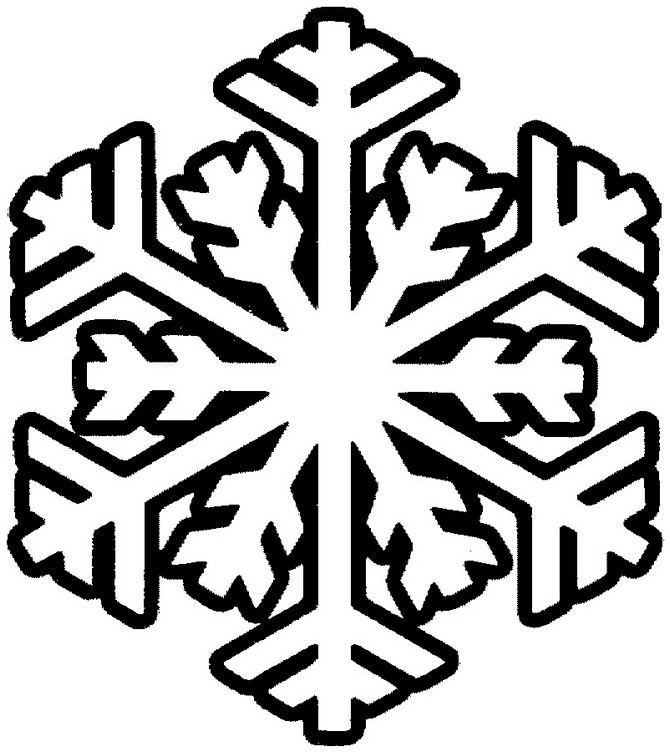Snowflake stencil (1)
