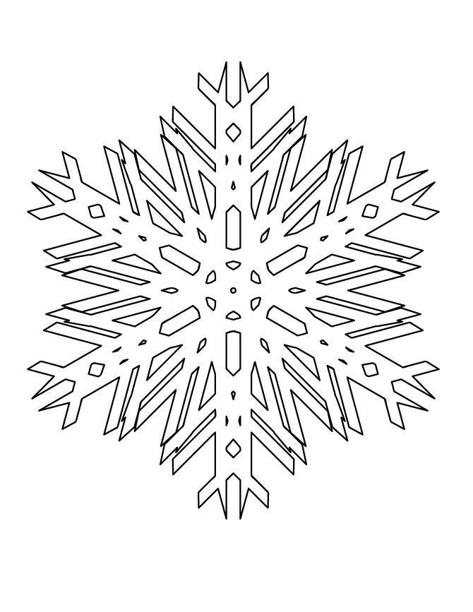 Snowflake stencil (12)