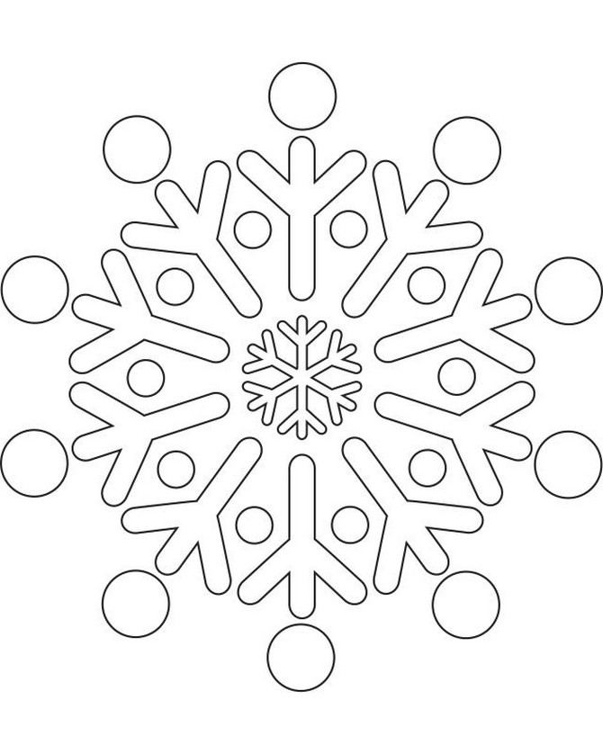 winter cut out coloring pages - photo#40