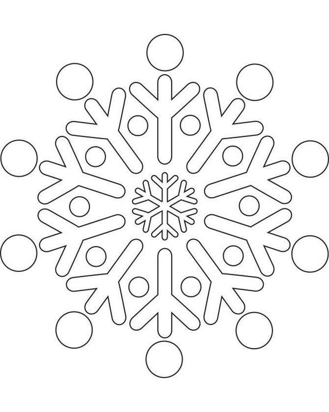 Snowflake stencils DIY 100 Ideas
