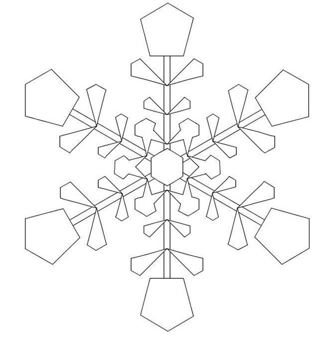 Snowflake stencil (15)
