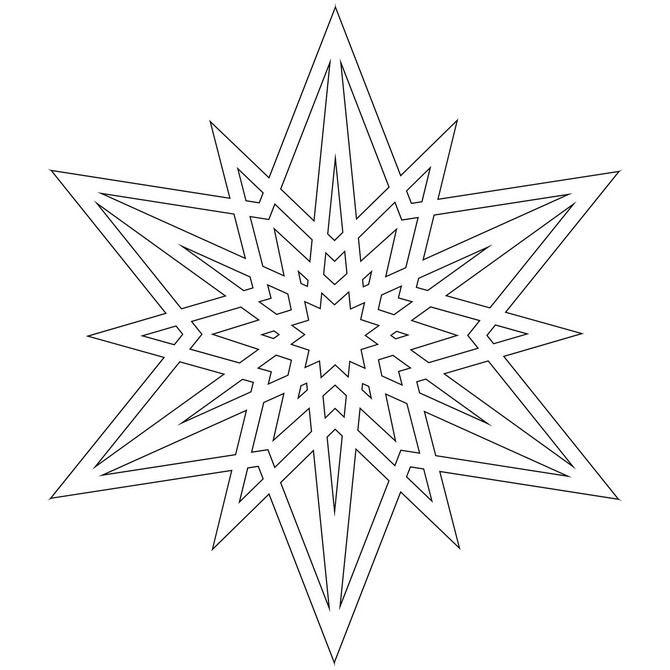 Snowflake stencil (19)