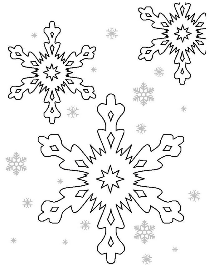 Snowflake stencil (21)