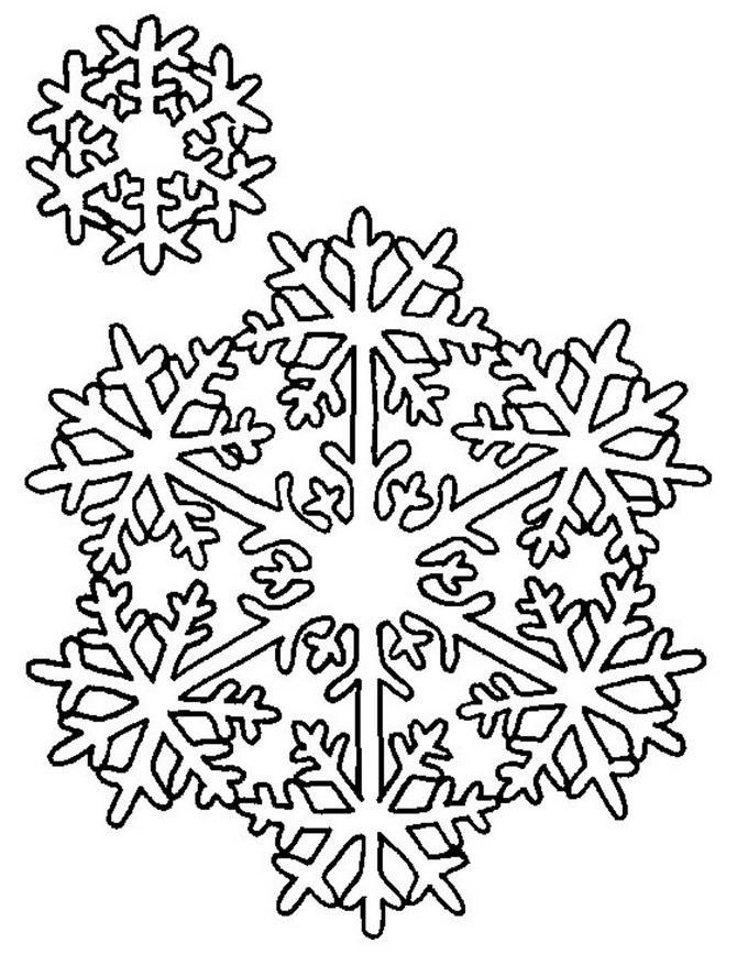 Snowflake stencil (24)