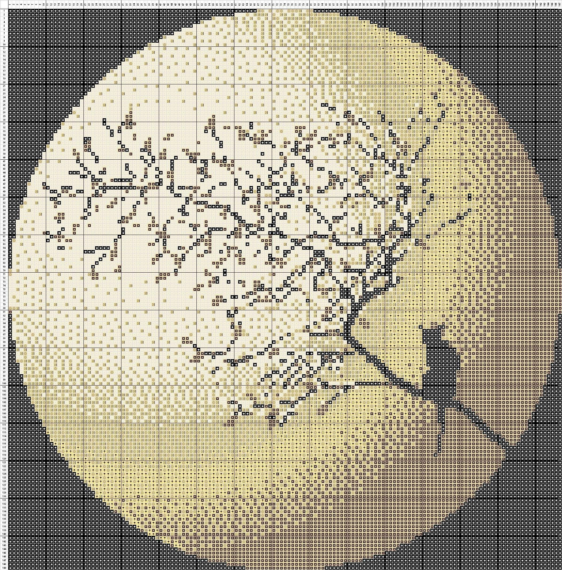 Free cross stitch pattern moon cat diy ideas