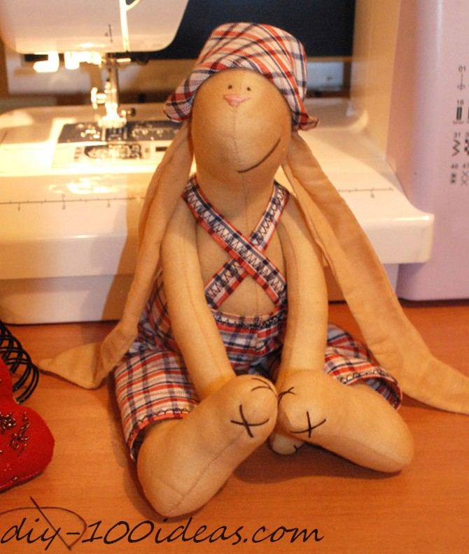 free sewing pattern tilda bunny (1)