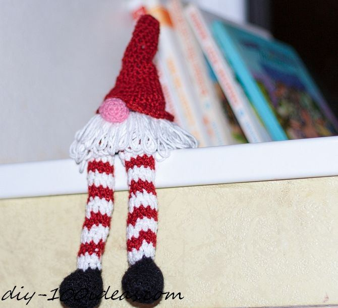 Crochet christmas gnome (1)