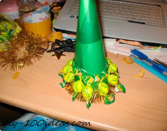 Diy candy christmas tree (5)