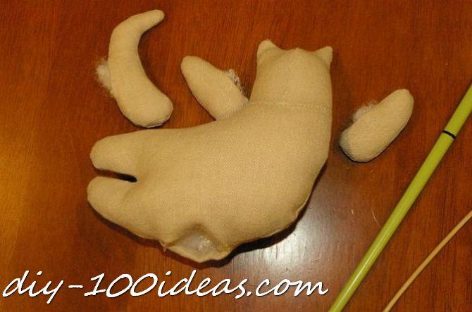 Free sewing pattern Tilda cat (18)