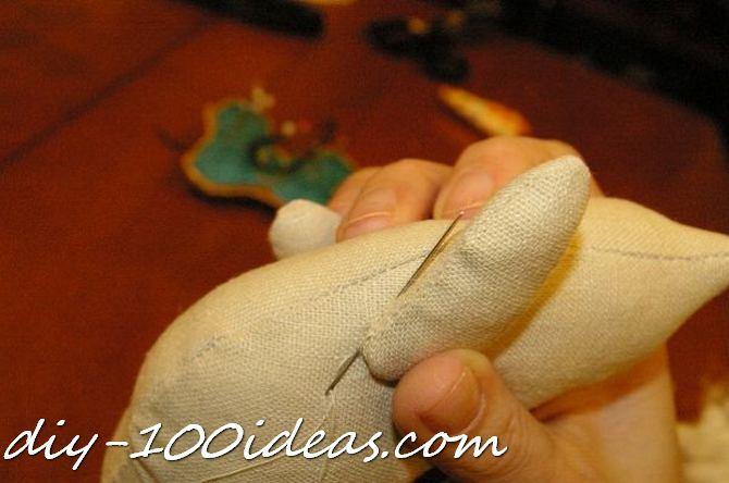 Free sewing pattern Tilda cat (22)