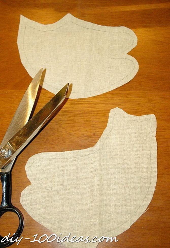 Free sewing pattern Tilda cat (4)