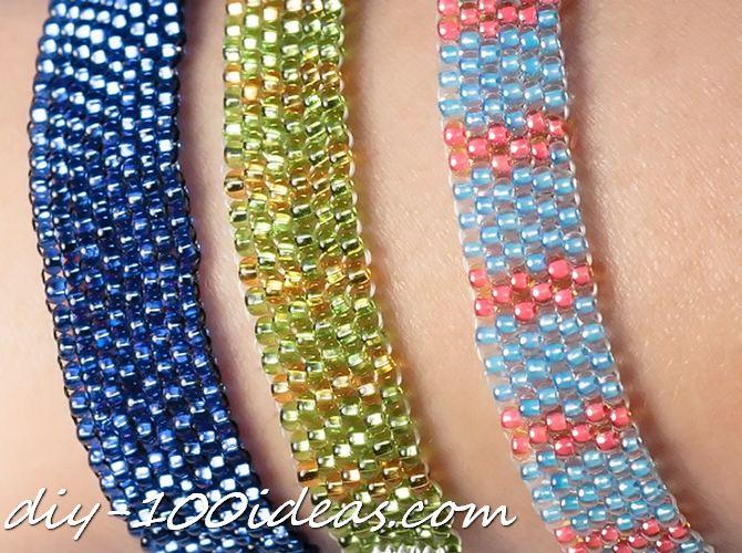 diy beaded bracelets (12)