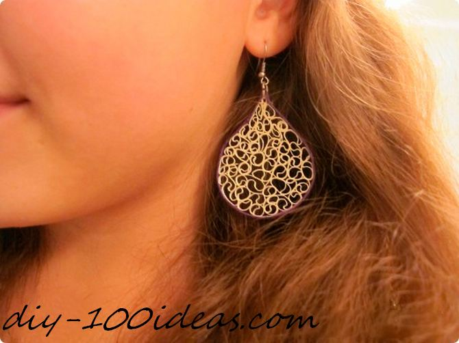 earrings diy ideas (4)