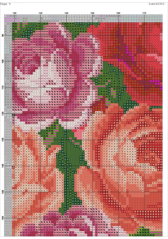 Cross stitch pattern Retro Bag (11)