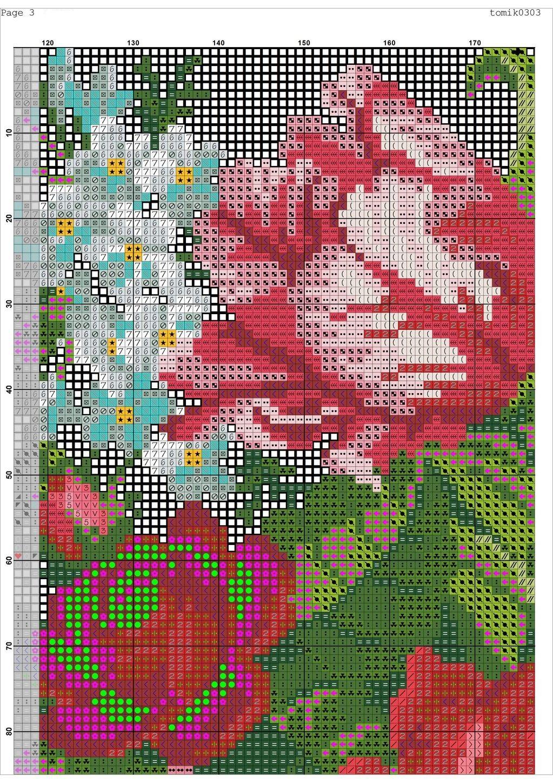 Cross stitch pattern Retro Bag (5)