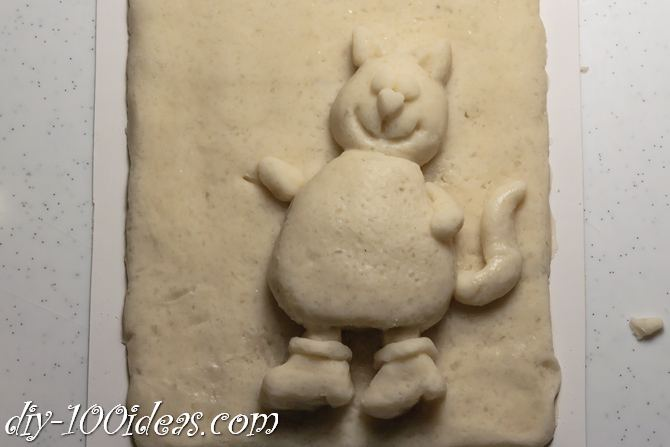 Salt Dough Cat  (7)