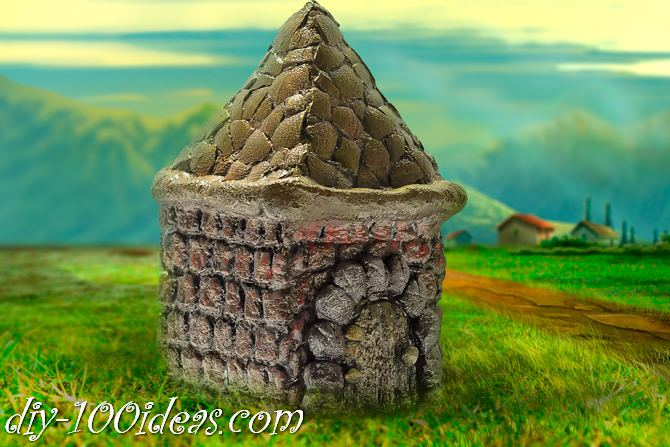 Salt dough House (1)
