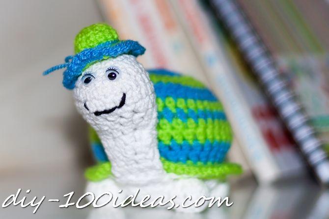 Crochet Turtle (2)