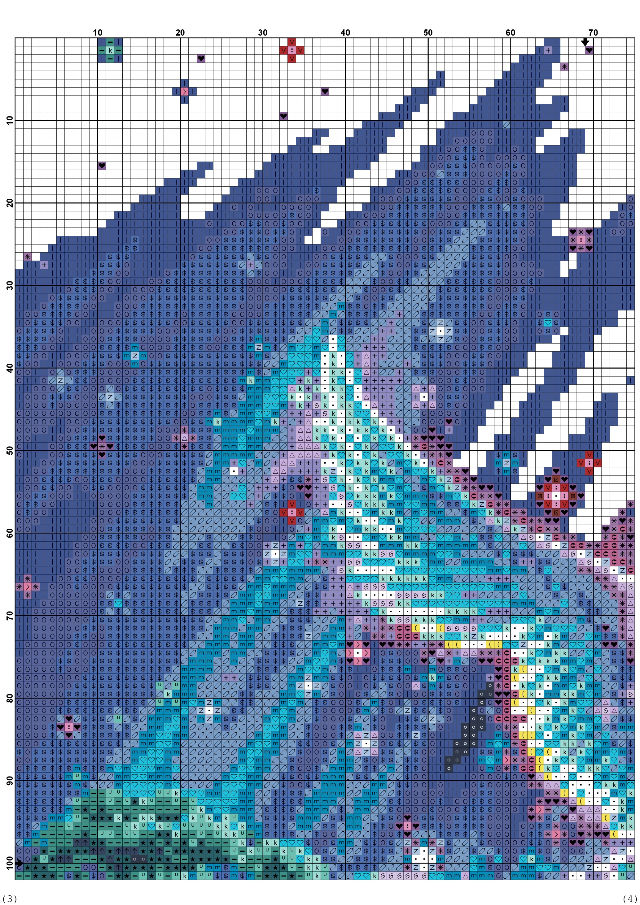 cross stitch pattern phoenix (2)