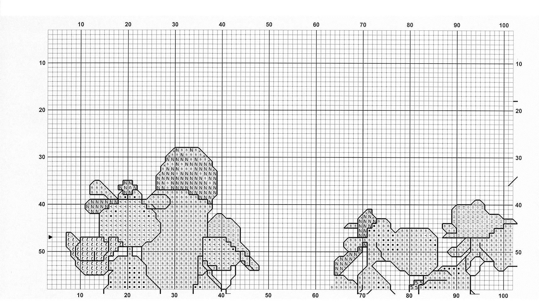 cross stitch cow pattern free (5)