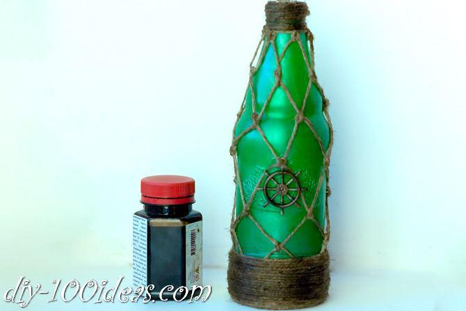 DIY Pirate Bottle Tutorial (12)