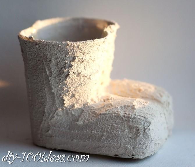 boots pencil holder diy (8)
