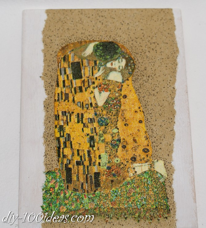 The Kiss Gustav Klimt Framed Wall Art Picture  (4)