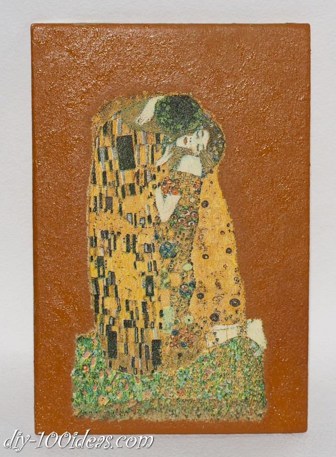 The Kiss Gustav Klimt Framed Wall Art Picture  (5)