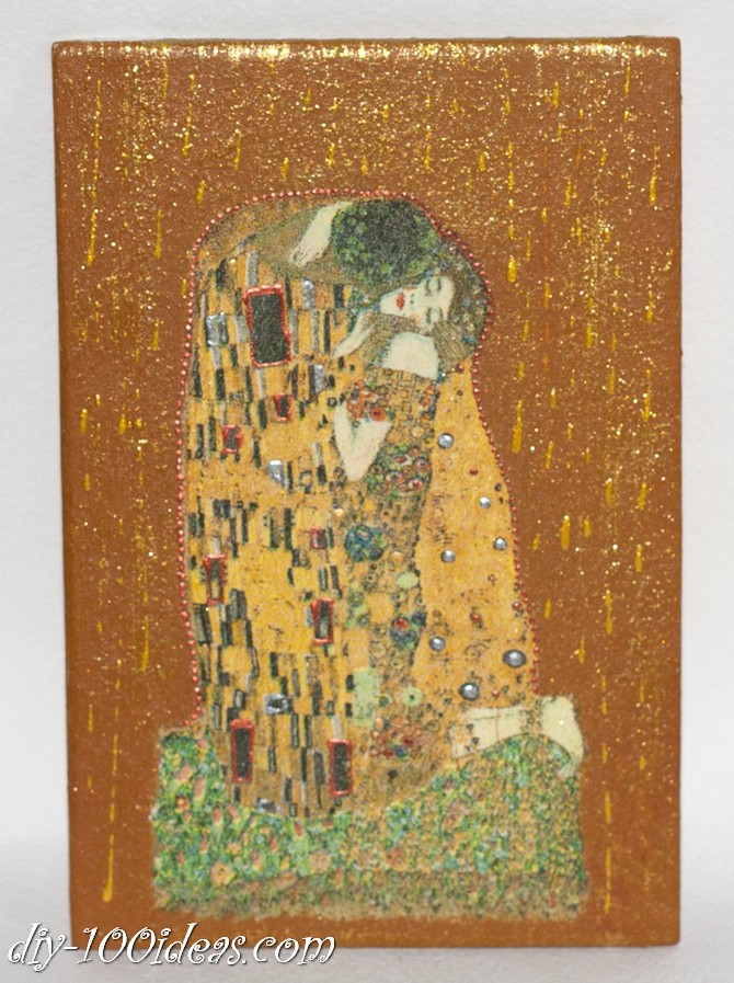 The Kiss Gustav Klimt Framed Wall Art Picture  (8)