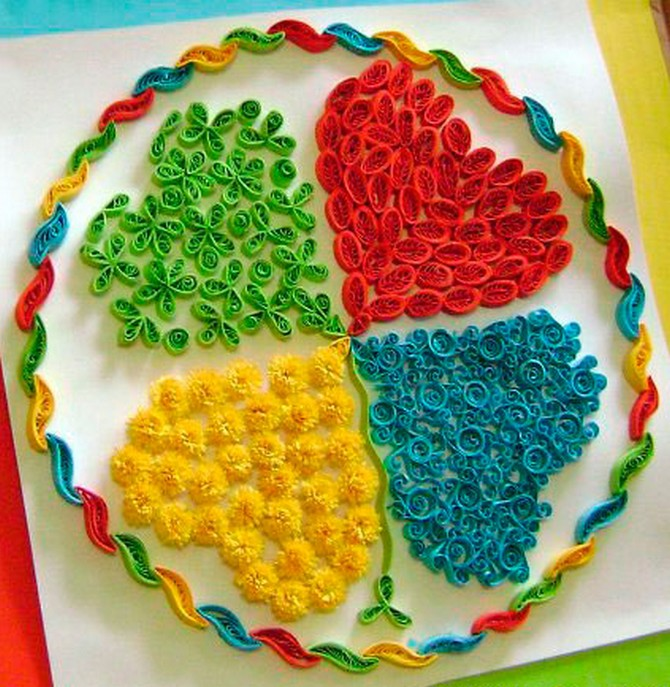 quilled leaf clover (2)