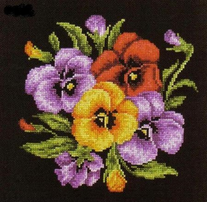 free cross stitch pattern pancy (1)
