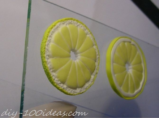 Polymer Clay Citrus Cane tutorial (19)