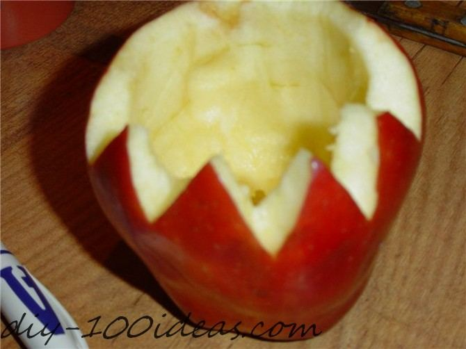 Apple Candle Tutorial (3)