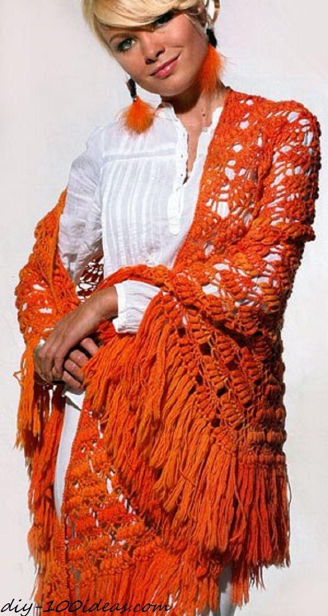 Free Crochet Shawl Pattern (1)