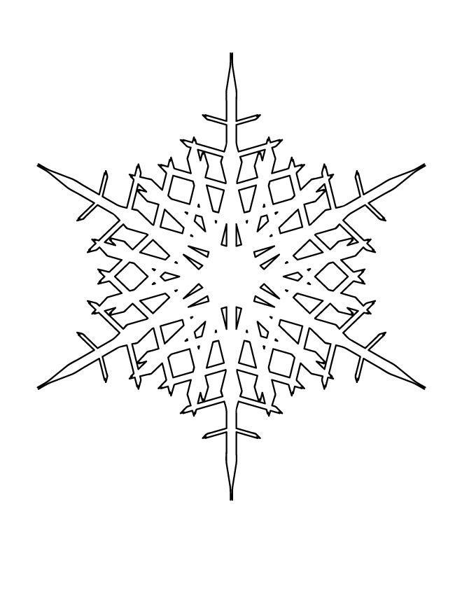 Snowflake stencil (16)