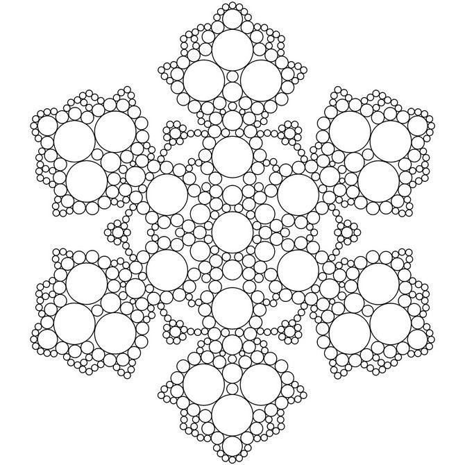 Snowflake stencil (17)