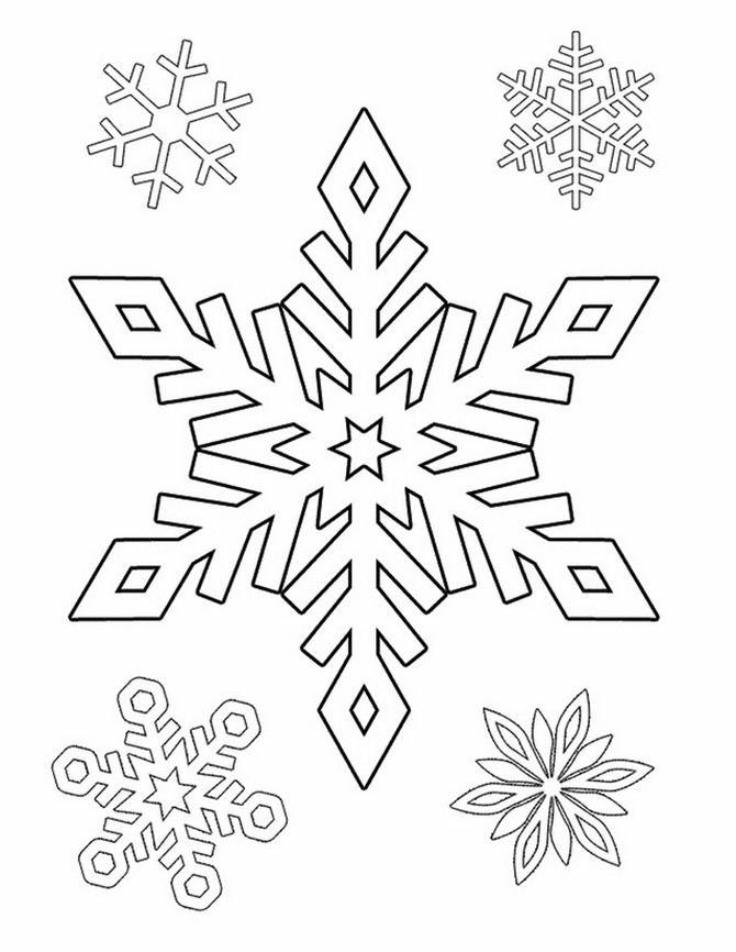 Snowflake stencil (5)