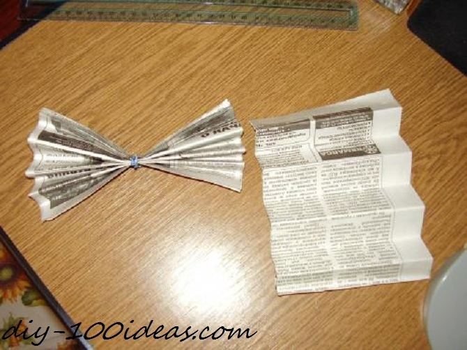 Bow from paper (2)