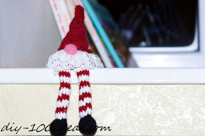 Crochet christmas gnome (2)