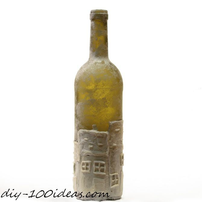 DIY wine bottle decor (6)