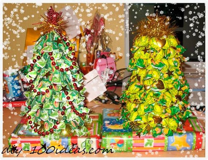 Diy candy christmas tree (1)