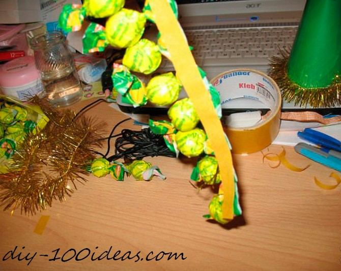 Diy candy christmas tree (4)