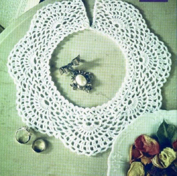 9 Easy Crocheted Collar Patterns Free Diy 100 Ideas