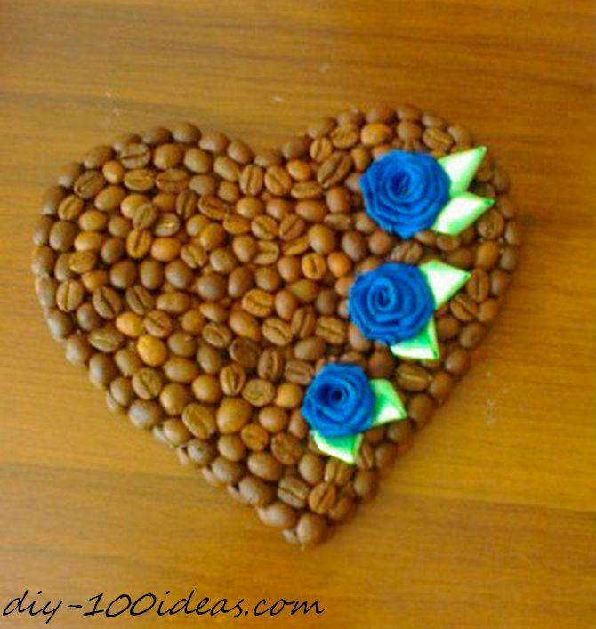 DIY Valentine Coffee Heart Magnet (2)