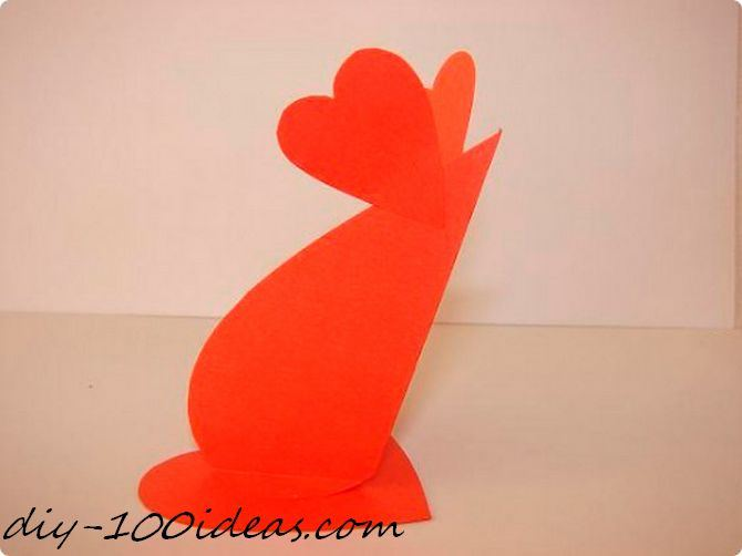 Folded heart mouse (5)