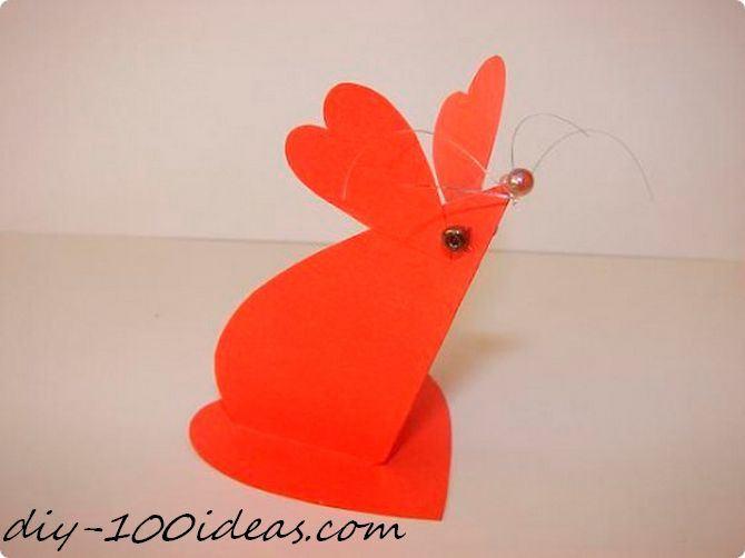 Folded heart mouse (6)